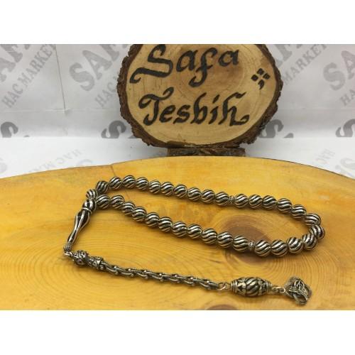 Gümüş Tesbih Çeşmi Bülbül 925 Ayar